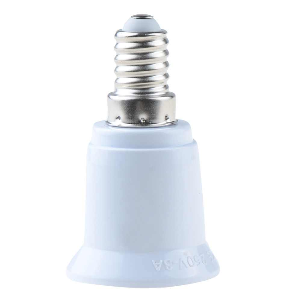 1 Piece Fireproof Material E14 to E27 lamp Holder Converter Socket Conversion light Bulb Base type Adapter