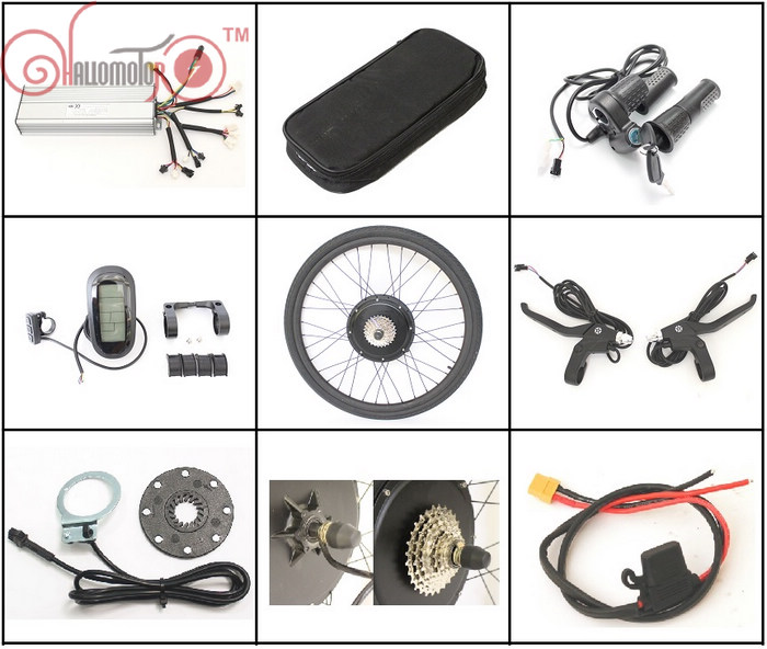 NO TAX EU 36V 1200W 1500W 48V eBike Conversion Kits 28