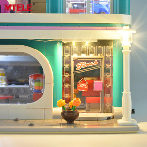 Image 5 - MTELE Brand LED Light Up Kit Toy For 10260 Down town Diner Creator City Street Lighting Set Compatile With 15037