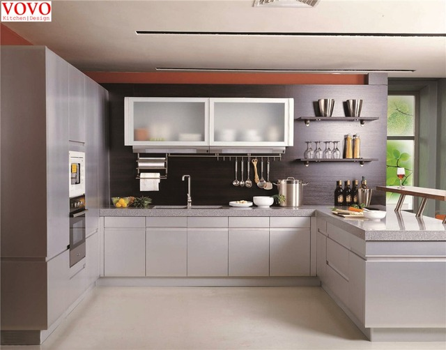 Apartment kitchen cabinet-in Kitchen Cabinets from Home Improvement ...