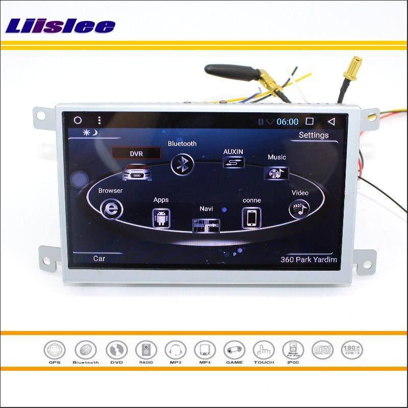 Liislee для Audi A6/A6L 2007 ~ 2011 gps Navi карта навигации Мультимедиа Стерео аудио и видео Сенсорный экран Управление центральной Системы
