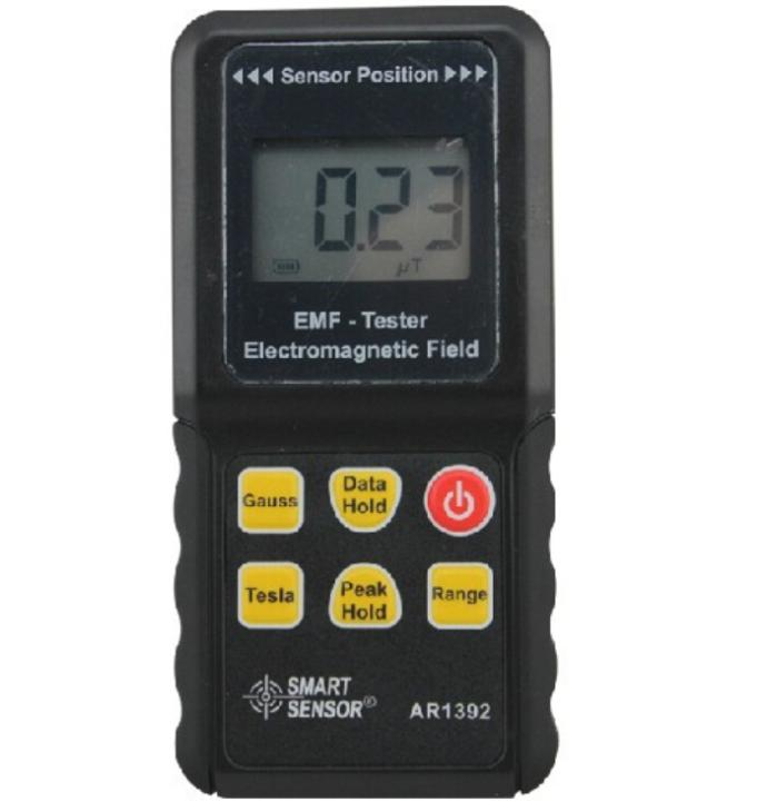 Electromagnetic Field Radiation Meter AR1392 EMF Tester Measuring Range 0~2000 mG 0~200 uT