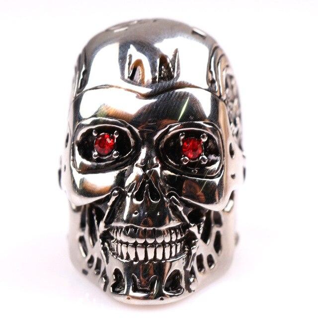 Кольцо Терминатор металлическое 3