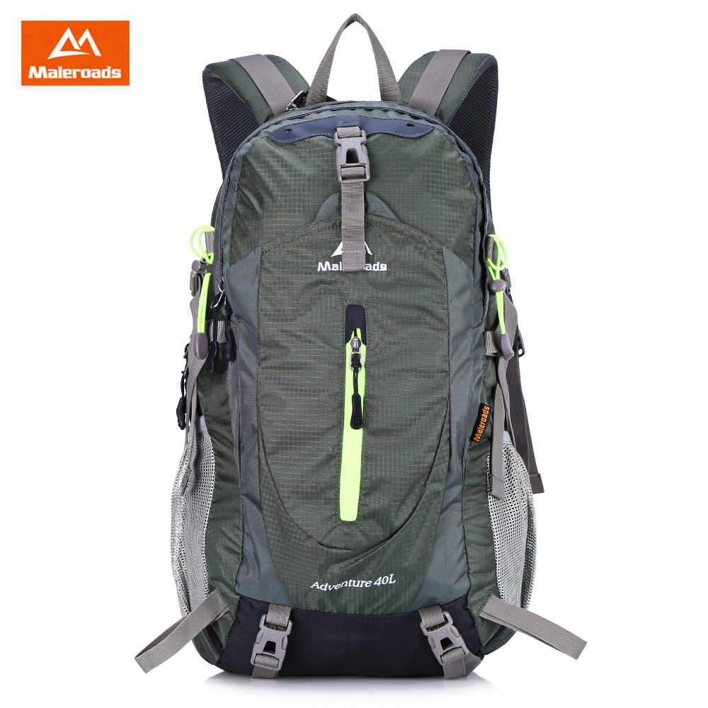 MALEROADS 40L Waterproof Outdoor Bags Sport Backpack Men Women Outdoor Camping Climbing Hiking Backpack for Outdoor Sports стоимость