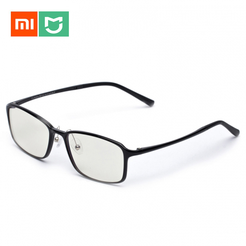 In Stock Xiaomi Mijia Customized TS Anti-blue-rays Protective glasses Eye Protector For Man Woman Play Phone/Computer/Games lowest price original xiaomi b1 roidmi detachable anti blue rays protective glass eye protector for man woman play phone pc
