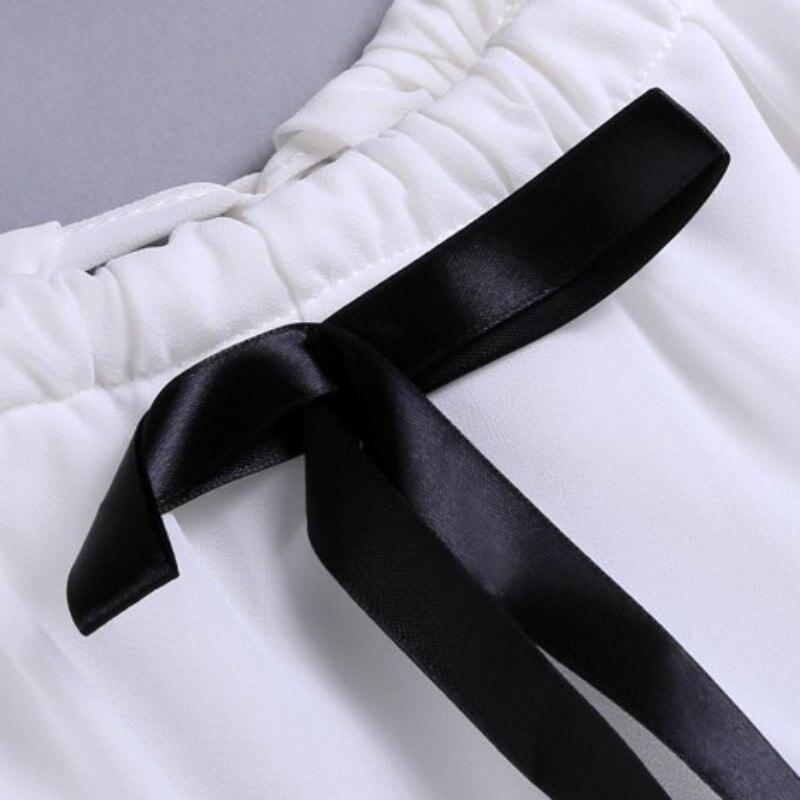 HTB1DGYnKXOWBuNjy0Fiq6xFxVXaX - White Shirt Women Sexy Off Shoulder Top Slash Neck Slim Wrap See Through Chiffon Blouse