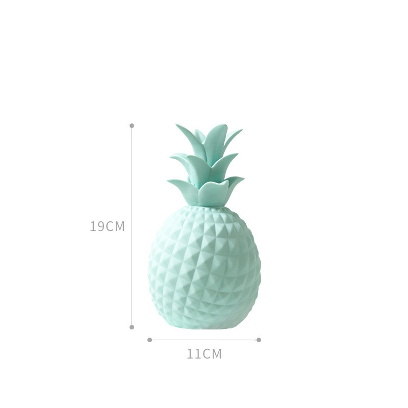 Pineapple Cactus Ceramic Statue 22