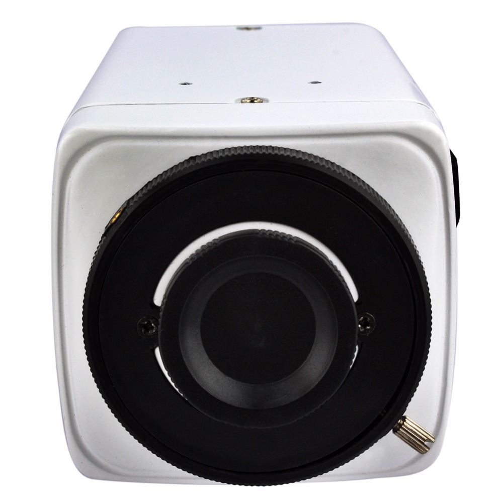 ELP 2Megapixel HI3516C IMX222 4 9mm auto iris lens box ip camera with alarm output and