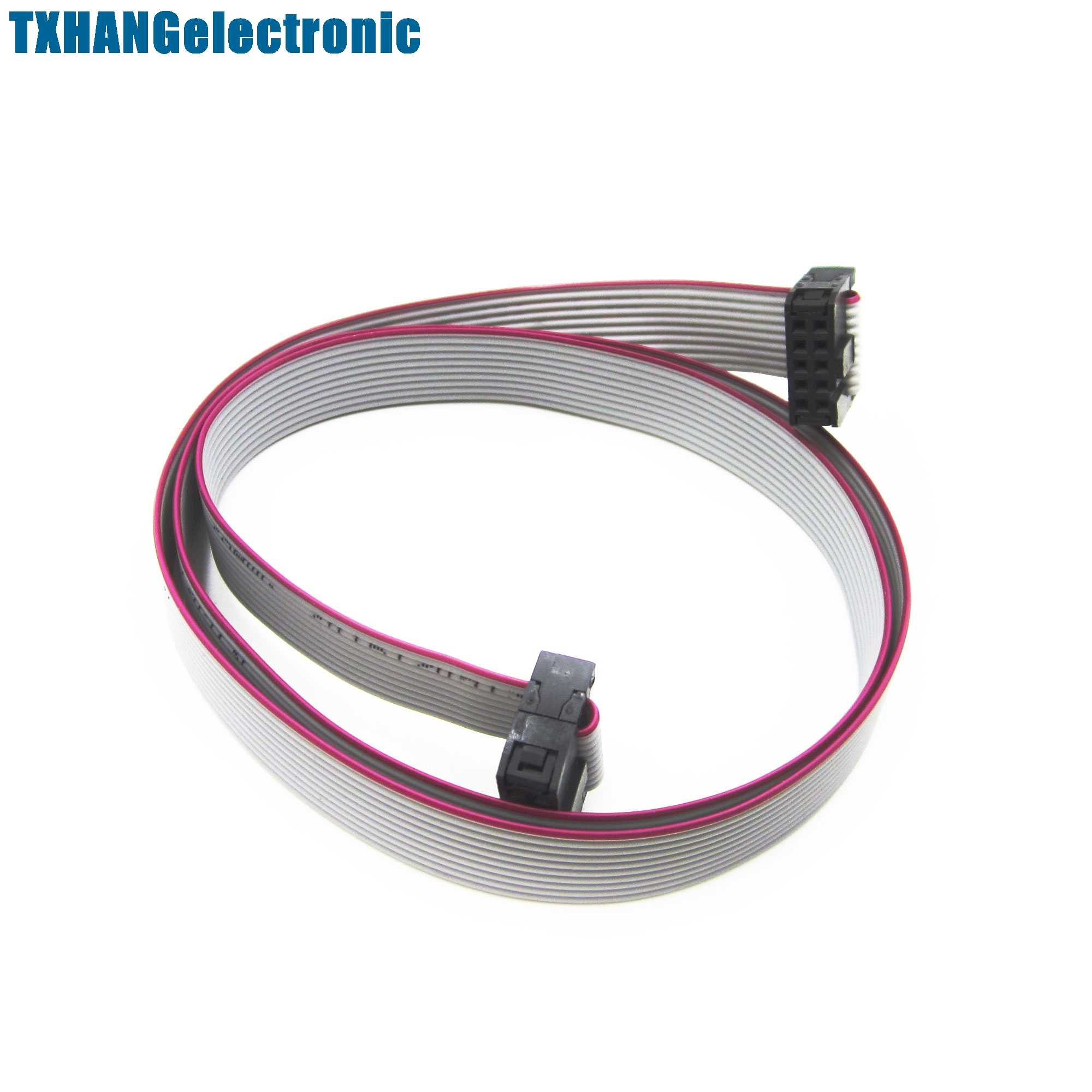 hight resolution of detail feedback questions about 70cm 10 pin usbisp usbasp jtag avr download wire 10p ribbon cable 2 3ft 2 54mm on aliexpress com alibaba group