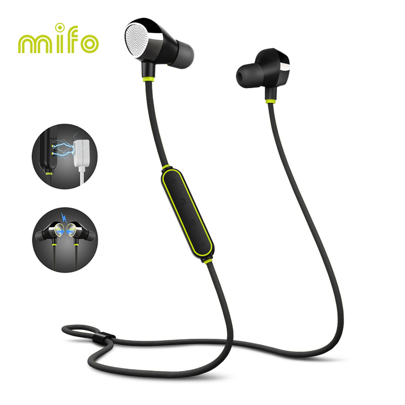 Mifo i8 Bluetooth V5 0 Headphones Sport Waterproof Wireless Earphones 3D Stereo Sound Noise Cancelling Earbuds