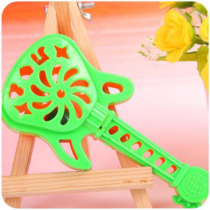 New cartoon cute guitar shape bells hand - bells early education educational toys baby rattles children s toys