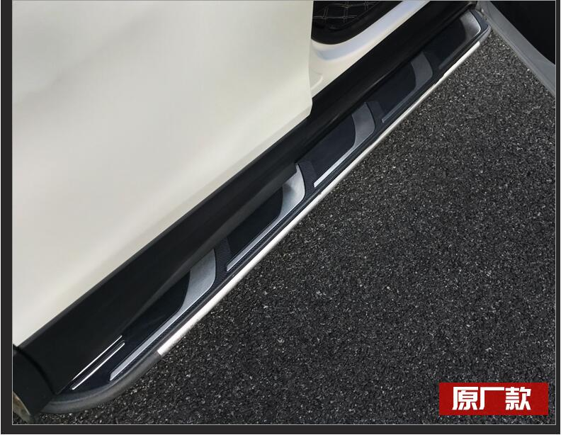 Car Aluminum alloy Running Board Side Step Nerf Bar Pedal For Chevrolet Equinox 2019 2017 2018 by Fedex