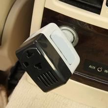 Автомобильные инверторы напряжения 220 В Преобразователь мощности USB зарядное устройство Автомобильный DC 12-24 В к AC Авто аксессуары для электроники автомобиля
