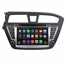 HD 1024X600 Android 5.1.1 Car DVD Stereo For Hyundai I20 2014 2015 Auto Radio RDS GPS Glonass Navigation Audio Video Player