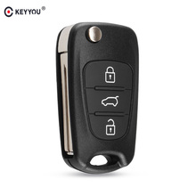 KEYYOU New Remote Key Shell For Hyundai I20 I30 IX35 I35 Acc