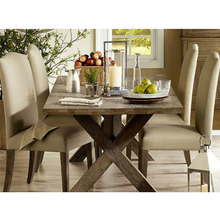 Solid wood furniture, custom American fashion wind natural wind wood tables dining tables living room home office