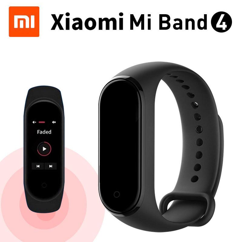 Original Xiaomi Mi Band 4 Bluetooth 5 0 Color Touch Screen Music AI Heart Rate Miband
