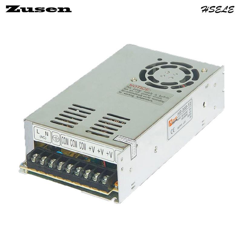 Zusen high quality  MS-350W-12V 29A min size Small-scale Switch Power supply free shipping ce and rosh