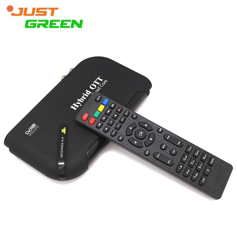 JUSTGREEN JG-T2 Android 4.4 Mini PC Amlogic S805 Quad Core TV BOX 1GB RAM 8GB ROM XBMC/Kodi HDMI RJ45 Bluetooth Remote Control mini dlp projector android 4 4 smart tv box 1gb 8gb kodi xbmc 2 4g