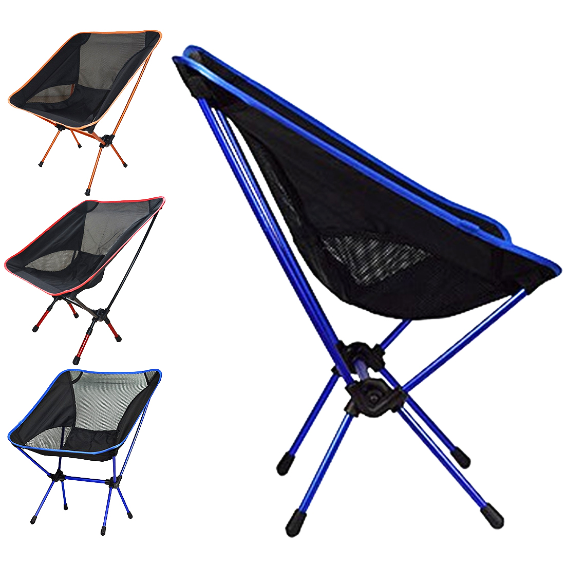 Hot New Portable Seat Lightweight Fishing Chair Solid Camping Stool Outdoor Folding Furniture Garden Portable Ultra Light Chairs