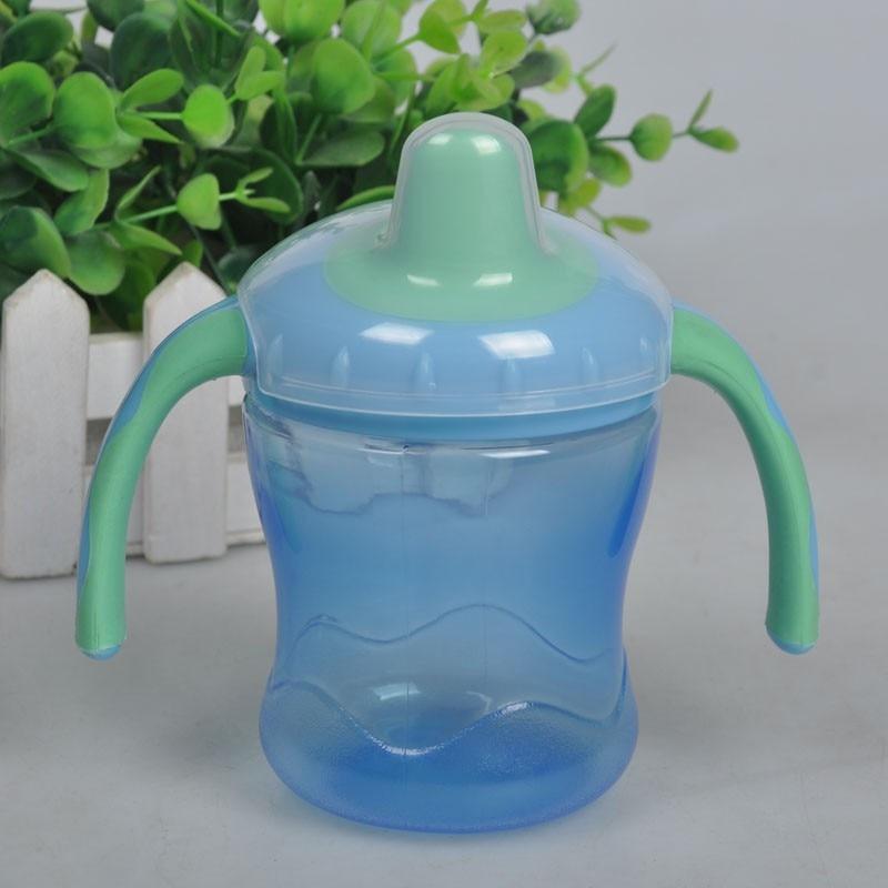 New Babyteller Baby Feeding Bottles Kids Soft Mouth Duckbill Sippy Bottle Infant Training Cups