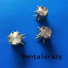 3 個歯科ラボ六角形の水空気バルブ歯科椅子ユニット部品デバイス