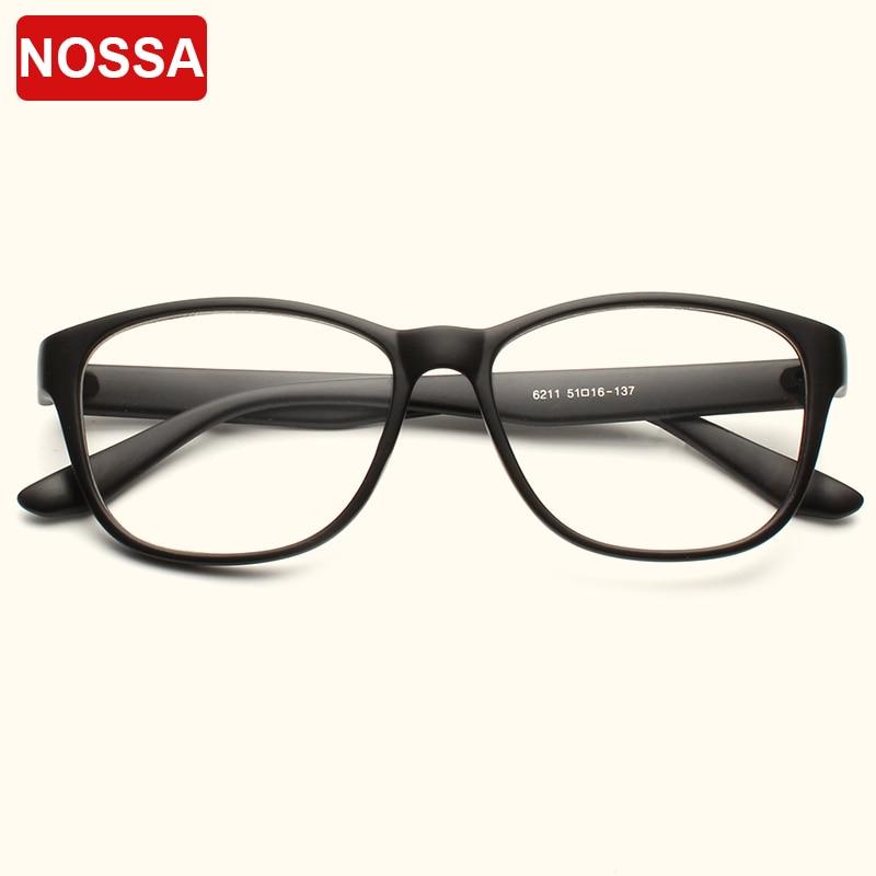 NOSSA Marke Oval Optische Glasrahmen Männer Und frauen Einfachen ...