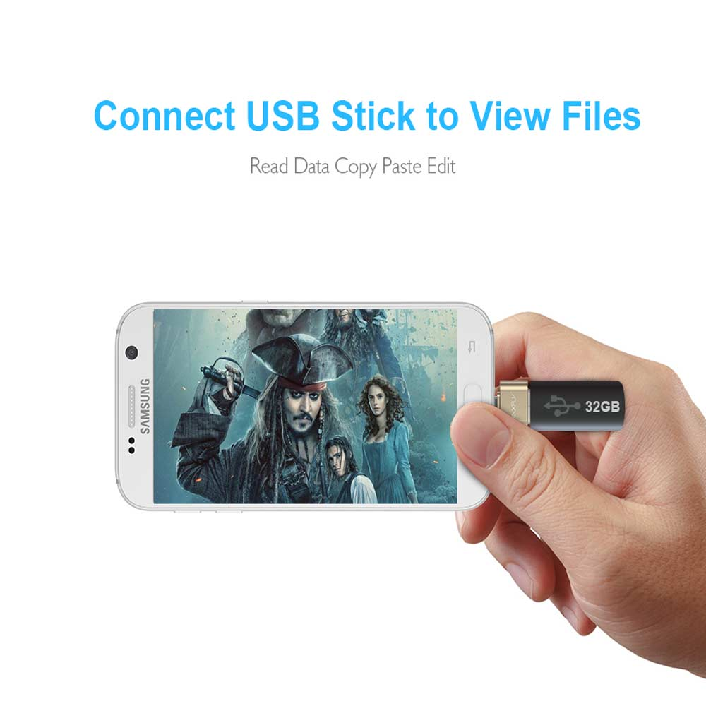 Ingelon Micro USB Adapter USB to MicroUSB Cable Converter for Pendrive USB Flash Drive to Phone Mouse Keyboard OTG A USB Gadget (3)