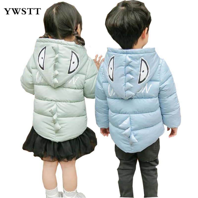 Girls Winter Jacket Child Boy down jackets Coat Parkas Hooded infant down jacket Kids Down Jackets Girls Snow Wear Infant Coat