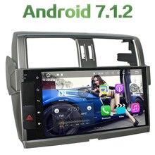 2 Din Android 7.1.2 Quad Core 2GB RAM 16GB ROM GPS Navigation HD Screen Car Radio Bluetooth Player for Toyota Prado 2014-2015
