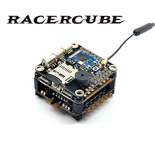 F19759 RacerCube SP Racing F3 EVO Flight Controller Integrated 4in1 ESC PDB MWOSD Frsky 8CH PPM SBUS Receiver