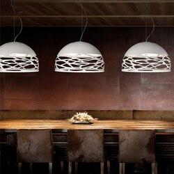 Projektanci dekodowania lampy wiszące oświetlenie sztuki nowoczesny styl minimalistyczny pokój dzienny jadalnia we włoszech lampy wiszące GY11