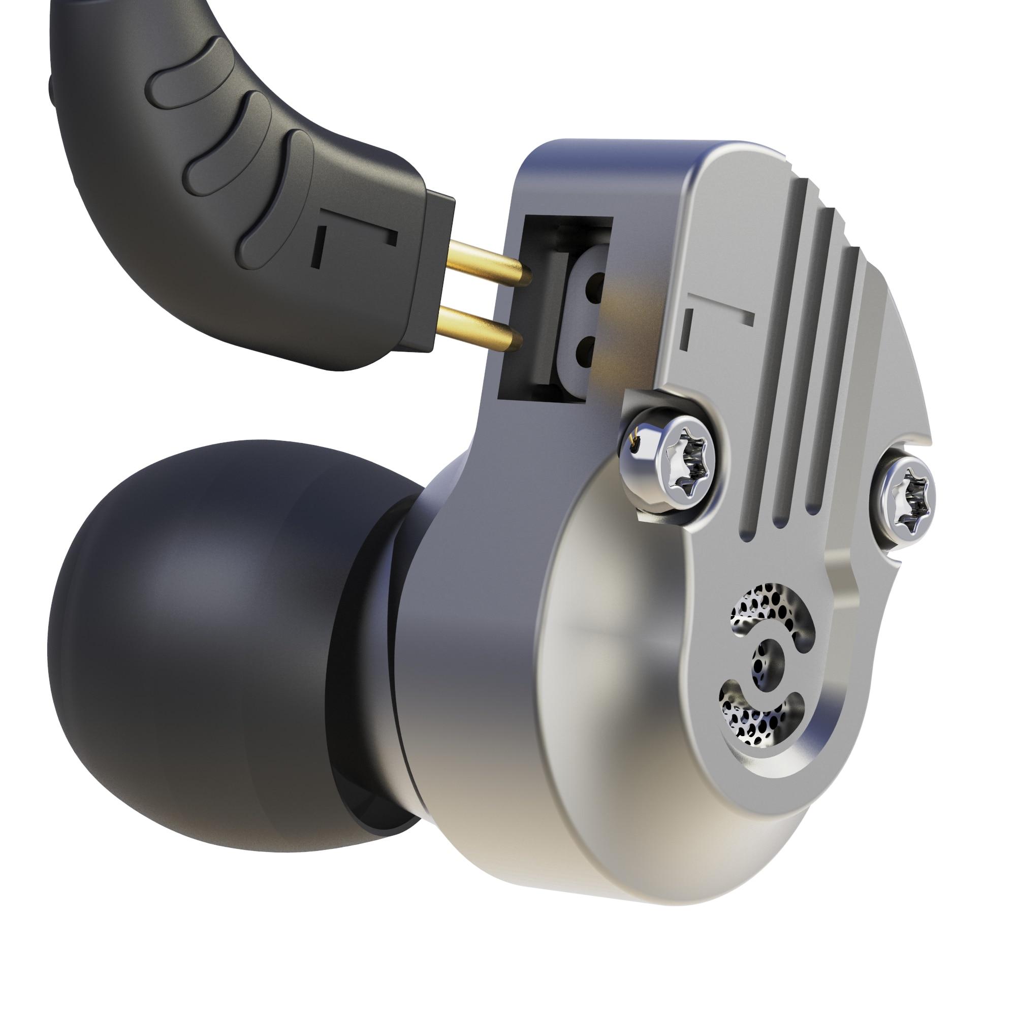 Newest Revonext NEX202 1DD+1BA Hybrid Technology In Ear Earphone HIFI Balanced Headset For Running Sport Headplug Earbud QT2 QT5