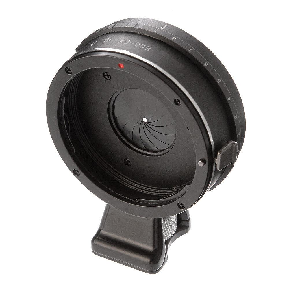 Intégré Ouverture Prête Bague D'adaptation pour Canon EOS EF Lentille à Fujifilm Fuji x-mount X-PRO2 X-E3 X-E2S X-A1 X-A10 X-A20 X-H1