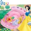 Bebé piscina inflable flota flotador de la piscina de natación para bebés y niños anillo de la nadada natación tubo de aire marca niños barco flotador inflable tubo