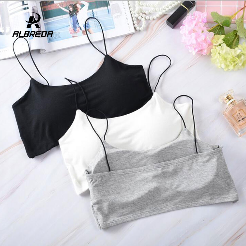 ALBREDA Women High-quality Fitness Yoga Sports Bra For Running Gym Padded Wire Shake Proof Underwear Seamless Fitness Top Bras