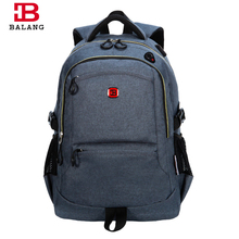 BALANG 2016 New Men's Casual High Quality 600D PVC Backpack Business Laptop Backpacks for Men Multifunction Portable Travel Bags