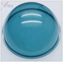 6.2 INCH Acrylic Indoor / Outdoor CCTV LIGHT BLUE Camera Dome Cover Vandal-Proof Camera Housing