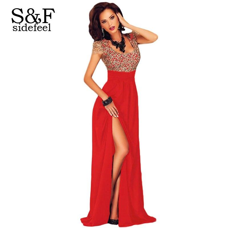 ... Slit Maxi Evening Gown LC60809 Sexy Dresses Party Night Dress Vestido  Vestidos De Festa Vestido Longo-in Dresses from Women s Clothing on  Aliexpress.com ... 4a2295e5bdf6