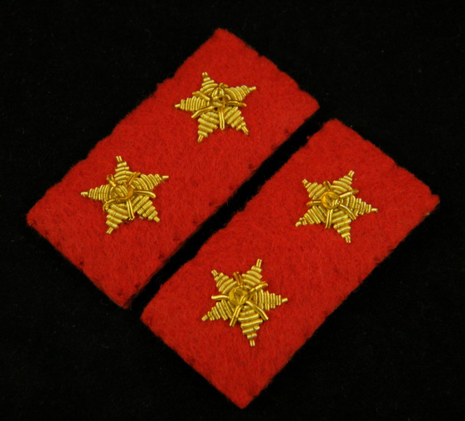 WWII IMPERIAL JAPANESE ARMY LANCE CORPORAL COLLAR TABS-35398