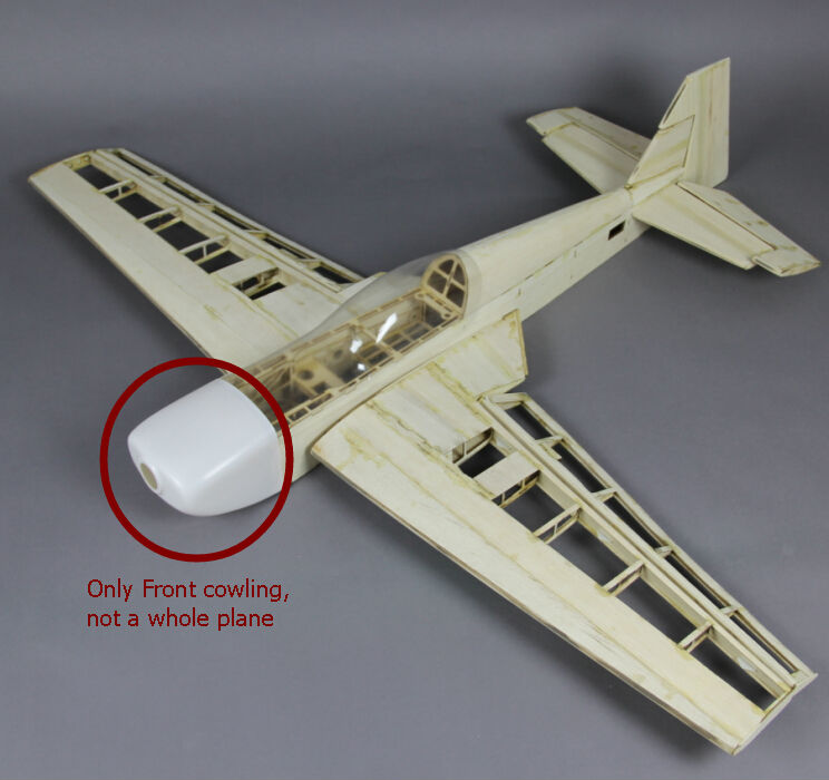 Cowl for 40 50c Katana DIY Balsa Plane Kit-in Parts