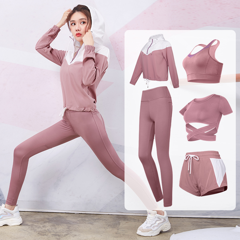 Vansydical Gym Yoga ensembles femmes Fitness formation vêtements en plein air extensible course Sportswear sport Jogging costumes 2-3 pièces