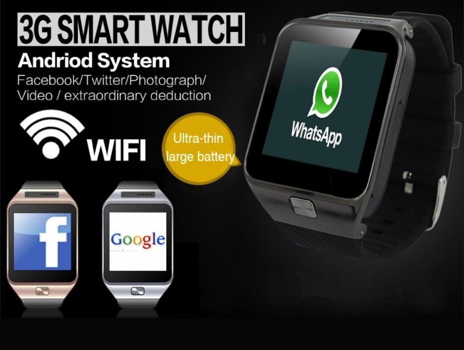 ELECTSHONG Smart WIFI Watch Dual Core CPU Bluetooth Smartwatch 512MB+4GB 3G Watch men GPS Camera support SIM Card TF card APP стоимость