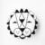 Breve Branco Geométrica Rodada Travesseiro Crianças Chão Do Quarto Do Bebê Decoração Bonito de Algodão Em Torno de Cama Recém-nascidos Em Estoque Frete Grátis 1 pcs
