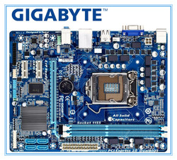 GIGABYTE GA-H61M-DS2 masaüstü anakart H61 soket LGA 1155 i3 i5 i7 DDR3 16G uATX UEFI BIOS orijinal H61M-DS2 kurulu