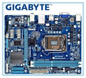 USED GIGABYTE GA-H61M-DS2 Desktop Motherboard H61 Socket LGA 1155 i3 i5 i7 DDR3 16G uATX UEFI BIOS H61M-DS2 PC