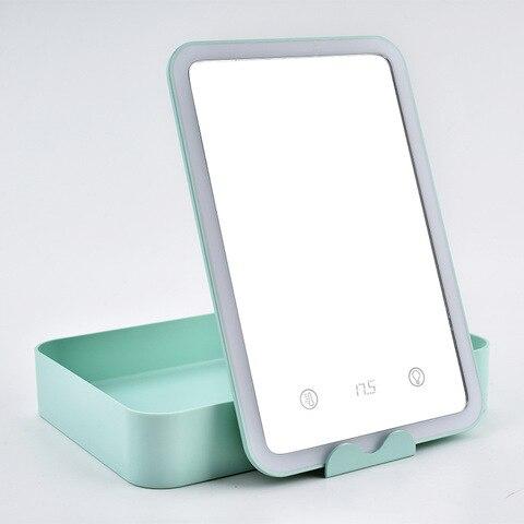 espelho de maquiagem portatil do diodo emissor