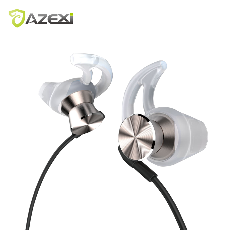 Azexi ECW-135 Fine Metal In-Ear Earphones Stereo Sound With Mic exquisite sports earphone for iPhone 7 Huawei Xiaomi Nokia OPPO em290 copper wire earphone in ear with mic clear 3d sound quality handsfree call for android ios smartphone oppo xiaomi mp3 pc