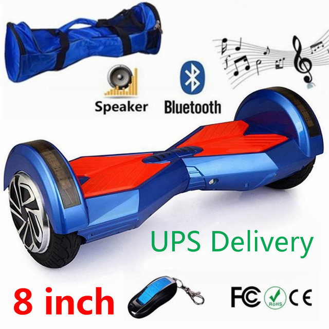 Betere Samsung Battery 8 inch Bag+Key+Bluetooth oxboard Hoverboard YV-62