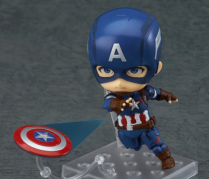 цена на Captain America Civil War Iron Man 618 Q version 10CM Nendoroid PVC Action Figures Model Collectible Toys